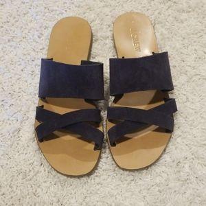 Slide sandles